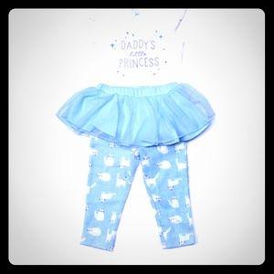 Carter's Baby Girl 2pc Set 9m